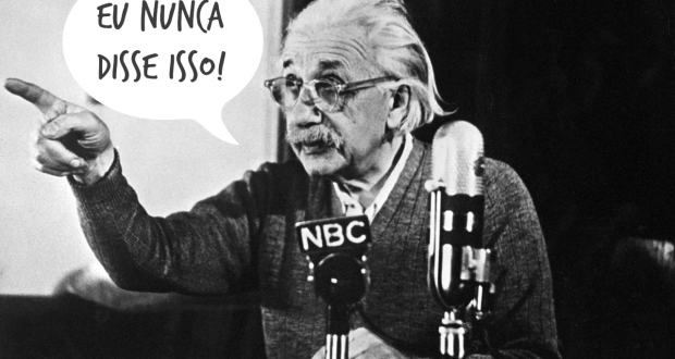 "PRINCETON, :  German-born Swiss-US physicist Albert Einstein, author of the theory of relativity, declares his opposition to the ""H"" bomb and to the arms race between the USA and the USSR in a conference 14 February 1950 in Princeton during a TV broadcast which created a considerable stir in the United States and all over the Western World. (Photo credit should read AFP/AFP/Getty Images)"